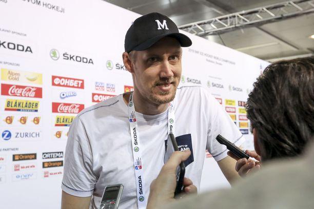 Marko Anttila lupasi ottaa päiväunet ennen finaalia.