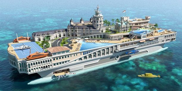 Streets of Monaco -jahti rakennetaan Monacon ruhtinaskunnan pienoismalliksi.