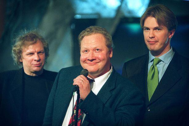 Voittajien oli helppo hymyillä vuoden 2000 Venla-gaalassa.