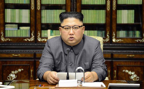 """Pohjois-Korea luonnehti Trumpin YK-puhetta """"koiran räksytykseksi""""."""