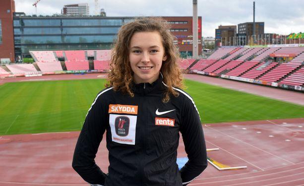 Ella Junnila palautti Suomen mitalikantaan korkeushypyssä.