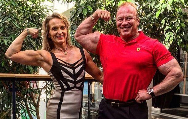 Gladiaattoreissa nähdyt Timo ja Agnes Honkala ovat edelleen näyttävä pari.