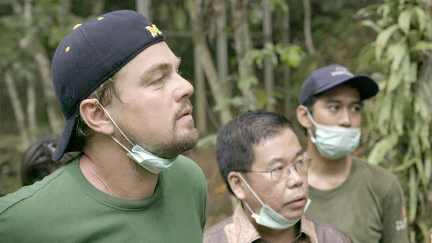 Leonardo DiCaprio vierailee dokumentissa muun muassa Indonesiassa.
