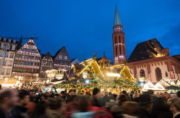 Frankfurtin joulutori sunnuntaina 27. marraskuuta 2016.