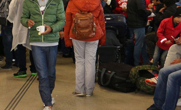 Turvapaikanhakijoiden vastaanotto on maahanmuuttoviraston mukaan edelleen hyvin hallinnassa.