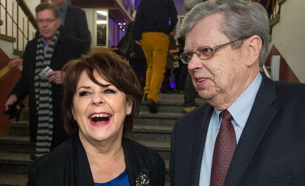 Pirkko Mannolan ja Göran Stubbin suhde etenee pikavauhtia.