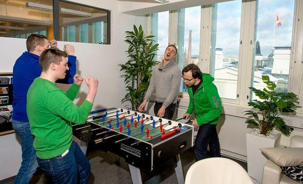 Goforen toimistossa on aktiviteetteja.