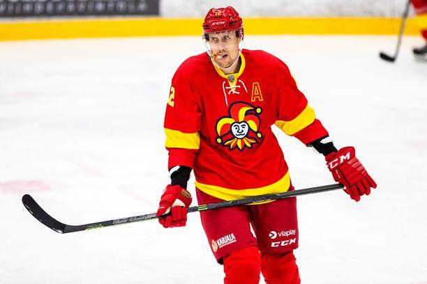 Marko Anttila on jälleen tositoimissa KHL:ssä.