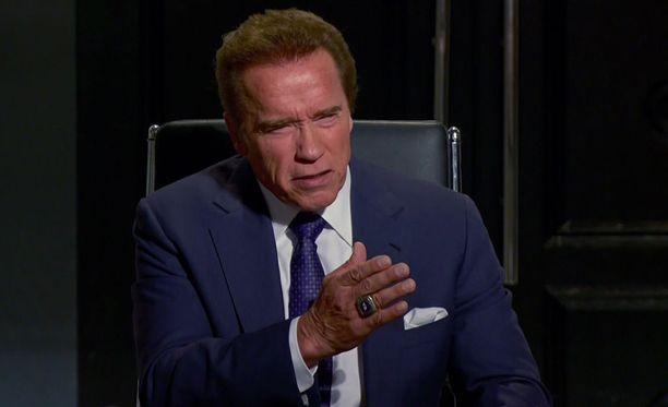 Näyttelijä Arnold Schwarzenegger arvostelee jälleen presidentti Donald Trumpia.
