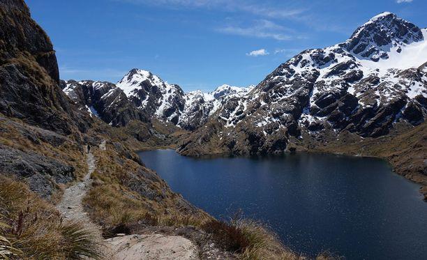Kesällä reitti on suosittu retkeilijöiden keskuudessa.