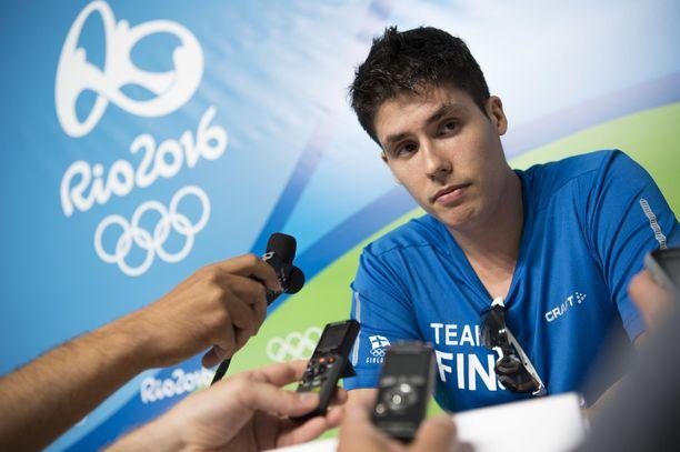 Olah edusti Suomea Rion olympialaisissa kesällä 2016.