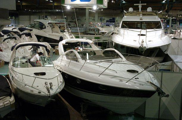 600 veneen lisäksi messuilla on tarjolla paljon tietoa vesillä liikkumisesta.