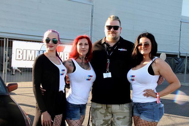 BMW-harrastajat ovat laatutietoista kansaa, valistaa Bimmer Tuning Club of Finlandin varapuheenjohtaja Jussi Manni.