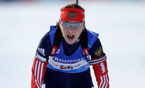 Jekaterina Glazyrina sai kahden vuoden kilpailukiellon kiellettyjen aineiden käytöstä.