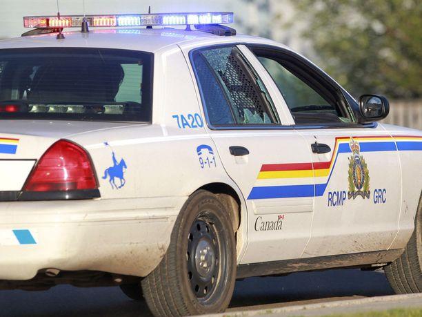 Kanadan ratsupoliisi yllättyi saavuttuaan tapahtumapaikalle.