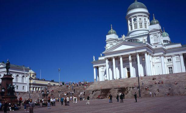 Helsinkiläiset tienaavat maailman mittakaavassa keskimäärin hyvin.