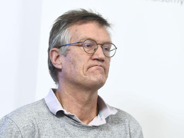 Tähän mieheen Ruotsi luottaa. Anders Tegnell on kansanterveysviranomaisen johtava epidemiologi.