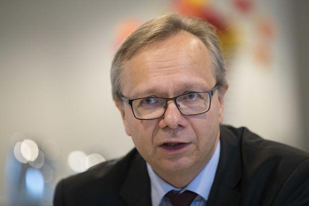 OP:n pääekonomisti Reijo Heiskanen.
