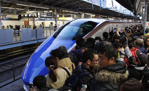 Japanissa junat ovat tunnettuja siitä, että ne kulkevat ajallaan.