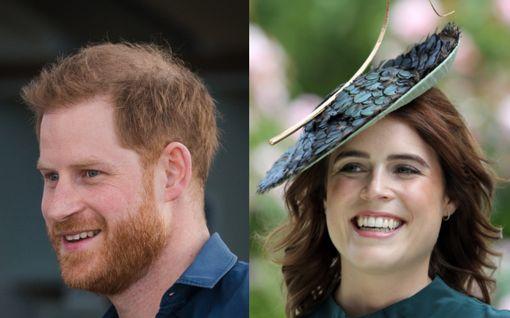 Prinssi Harry ja hänen taloonsa muuttava Eugenie ovat ylimmät ystävät: Vauvauutinen hääpäivänä oli kuitenkin liikaa serkulle