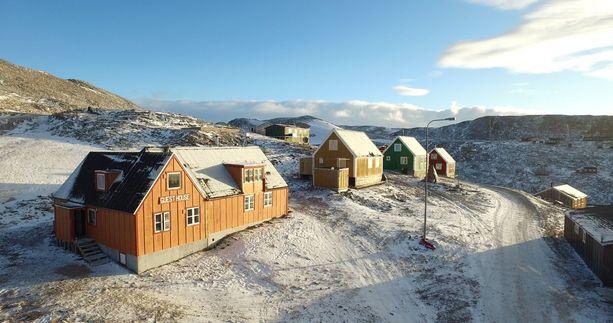 Ittoqqortoormiit Guesthouse palvelee grönlantilaiselle pikkusaarelle haluavia matkailijoita.