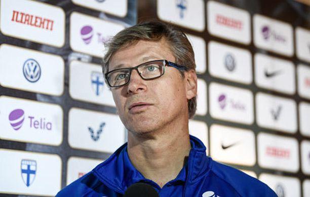 Päävalmentaja Markku Kanerva ei ollut tyytyväinen joukkueensa hyökkäyspelaamiseen.