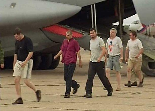 Yksitoista Arctic Sean miehistön jäsentä saapui Moskovaan torstaina.