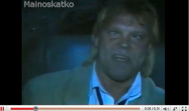 Vesa-Matti Loiri neuvoi taannoin kuskeja istumaan matkustajan penkillä humalassa.