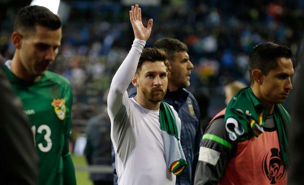Lionel Messi johdattaa Argentiinaa kohti menestystä.