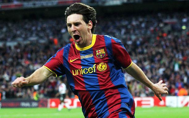 Leo Messi teki ottelun voittomaalin.