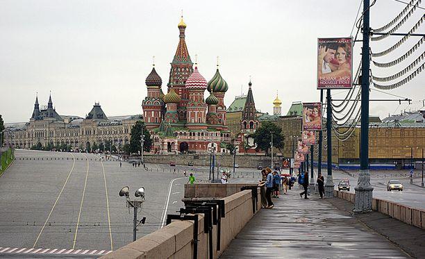 Pokemon Gon pelaajat olivat Kremlin lähistöllä ihmeissään, kun kännykkä väitti heidän olevan Vnukovon lentokentällä.