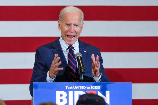 Entinen varapresidentti Joe Biden on ollut ennakkosuosikki demokraattipuolueen presidenttiehdokkaaksi käytännössä koko ehdokkuutensa ajan.