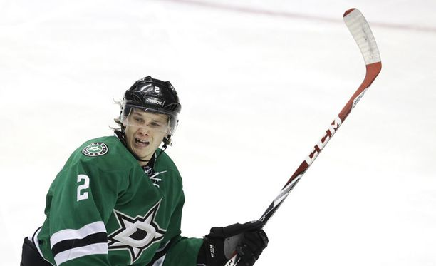 Jyrki Jokipakka on pelannut tällä kaudella 18 NHL-ottelua.