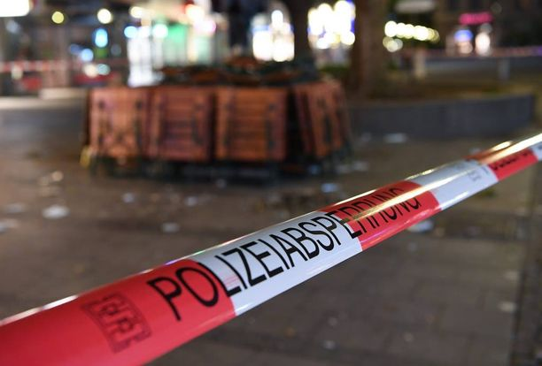 Poliisi on eristänyt rikospaikan Münchenissä.