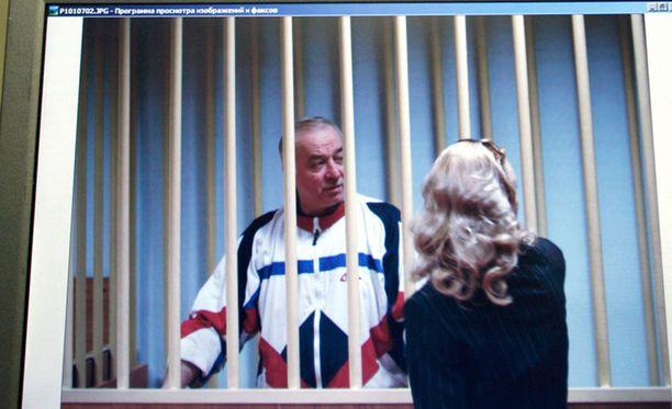 Tältä myrkytetty Sergei Skripal näytti vuonna 2006.