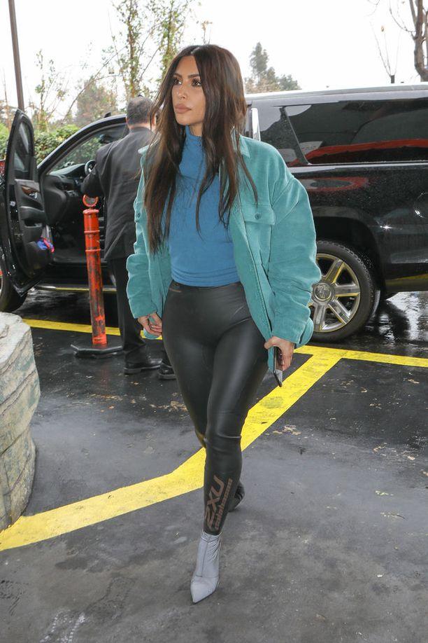 Kim Kardashiania on syytetty ennenkin Instagram-kuviensa muokkauksesta.