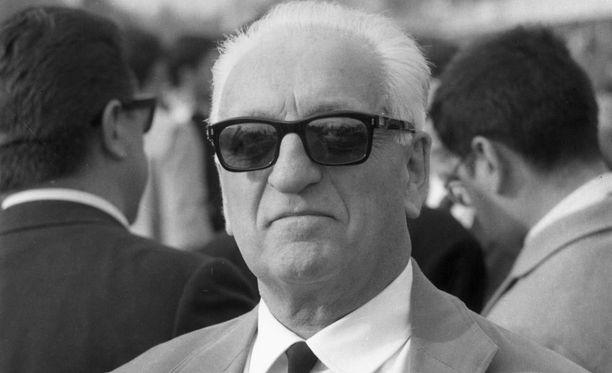 Enzo Ferrari oli voimakastahtoinen johtaja.
