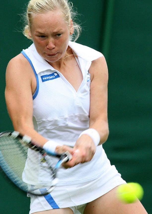Emma Laine kohtaa kolmannella kierroksella kuutossijoitetun Ranskan Mary Piercen.