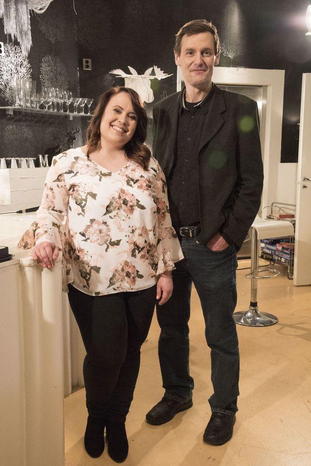 Hanna Kinnunen ja Andrei Sandberg palaavat roolihahmoihinsa vuosien tauon jälkeen.