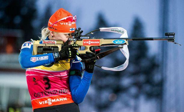 Kaisa Mäkäräinen tähtäsi Östersundissa hyvät tienestit, mutta alppinaiset kuittaavat vielä kovempia summia.