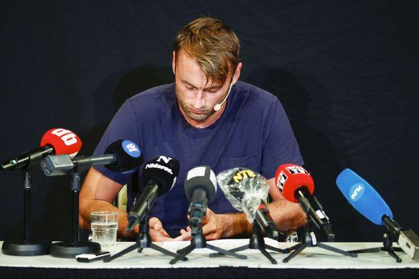 Petter Northug kertoi medialle päihdeongelmistaan 21.8. Trondheimissa.