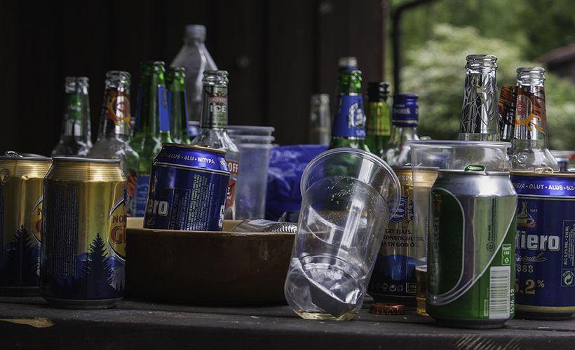 Flunssa Alkoholi