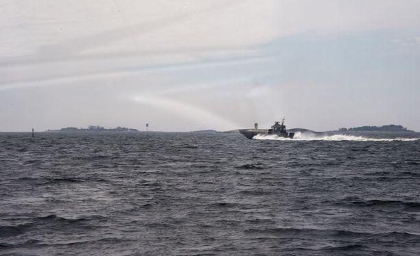 Suomenlahdella oli eilen uhkaava tilanne, joka johti suureen meripelastusviranomaisten operaatioon. Kuvituskuva.