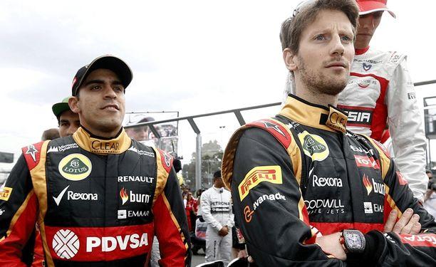 Pastor Maldonadon ja Romain Grosjeanin työnantaja Lotus on huonossa jamassa.