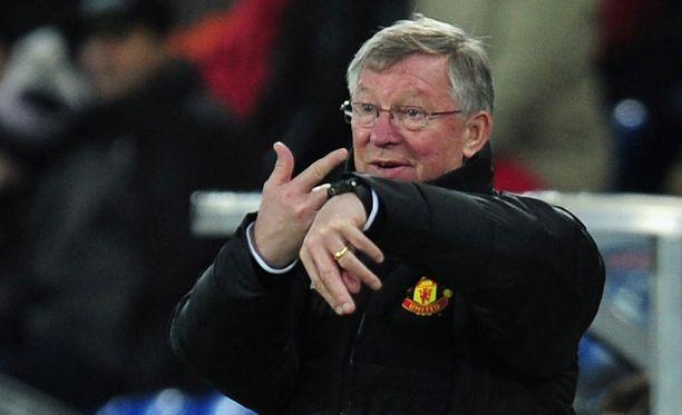 "Sir Alex Ferguson ja ""Fergie time"""