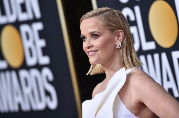 Reese Witherspoon tunnetaan esimerkiksi Big Little Lies -sarjasta.