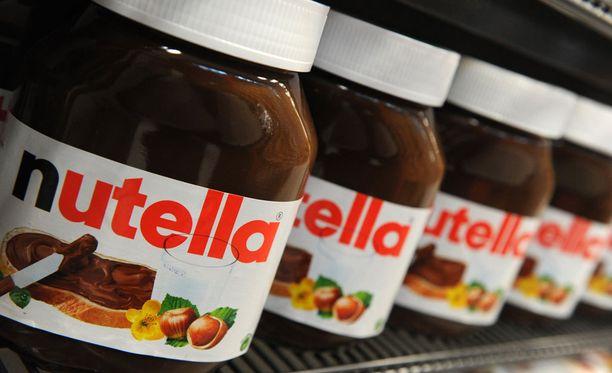 Nutella on suosittu suklaalevite, jota myydään maailmanlaajuisesti.
