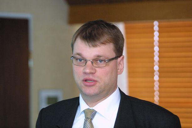 Juha Sipilästä tuli miljonääri vuonna 1996. Kuva vuodelta 2002.