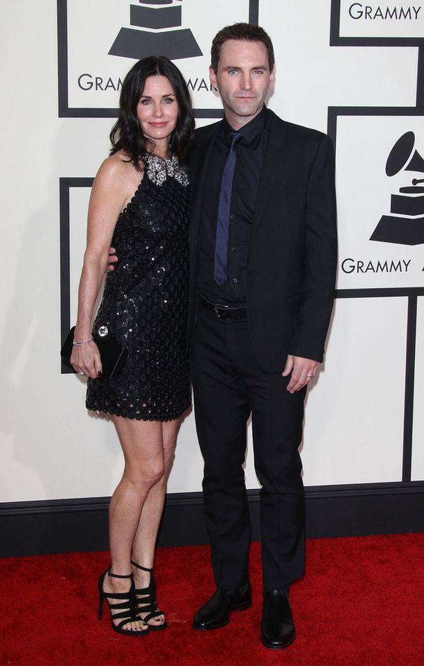 Onnelliset kyyhkyläiset kuhertelivat Grammy-gaalassa.
