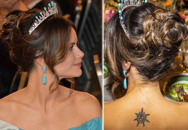 Prinsessa Sofia ei stressaa, vaikka kuninkaallisissa piireissä harvoin juhlaillallisilla nähdään tatuointeja.